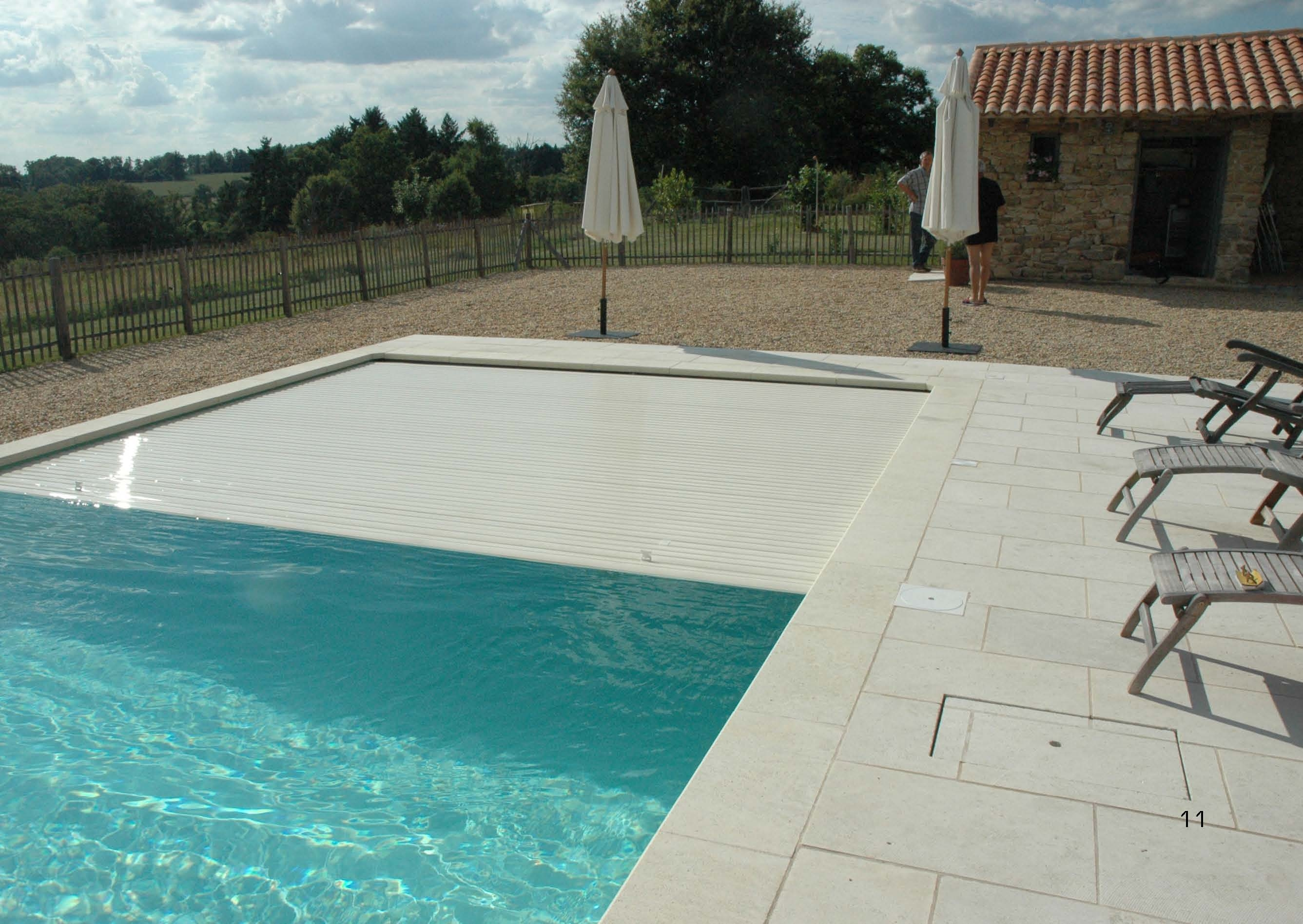 Electric Shutter Pool Cover